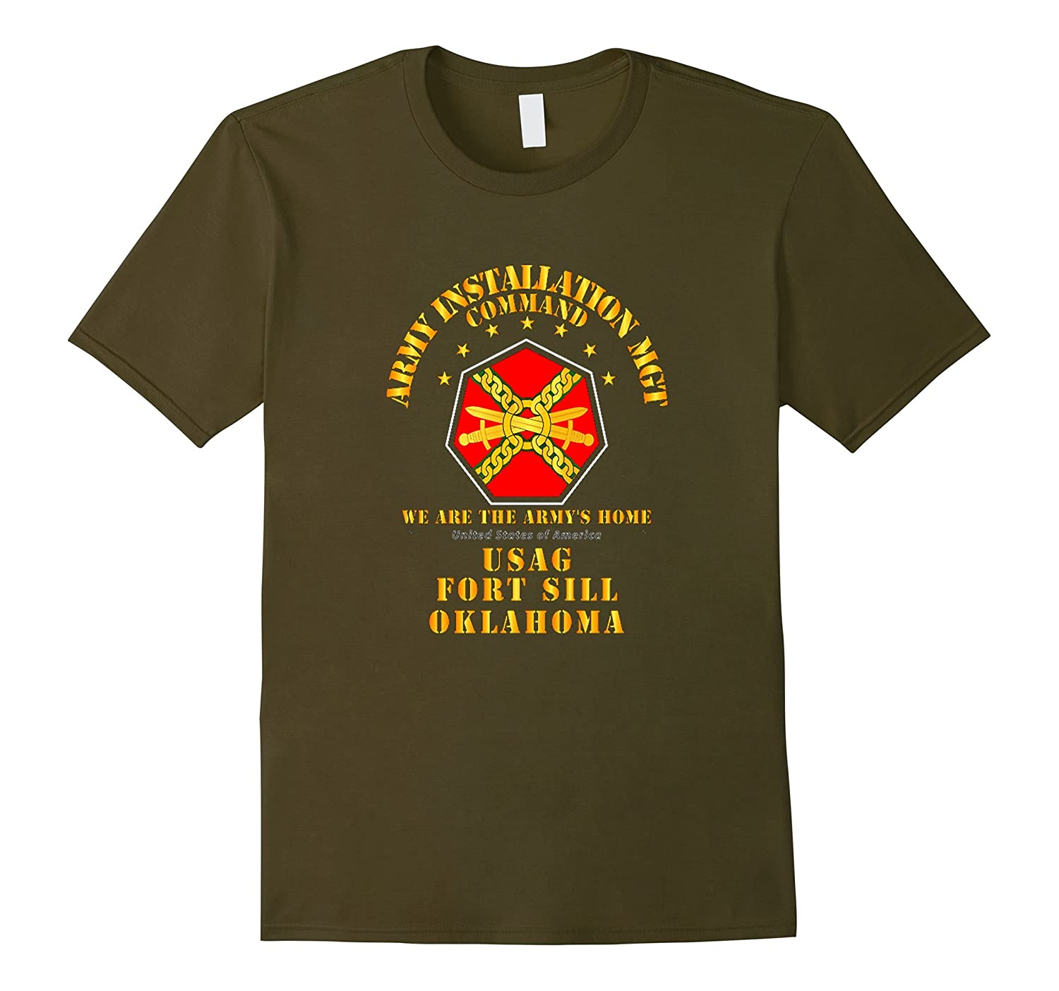 US Army - Installation Management Command Ft Sill Tshirt-Vaci