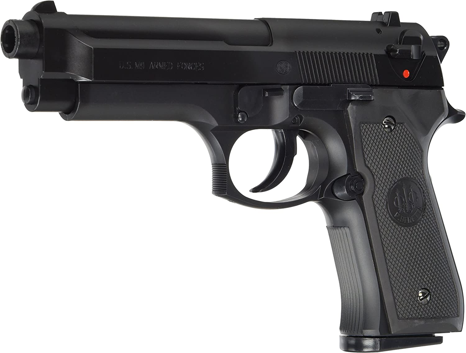 BERETTA M9 World Defender - Pistola Airsoft (<0,5 Julios), Color Negro
