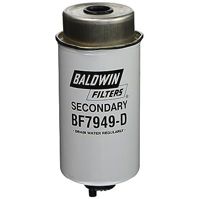 Baldwin Heavy Duty BF7949-D Fuel Filter,7-21/32 x 3-1/2 x 7-21/32 In: Automotive