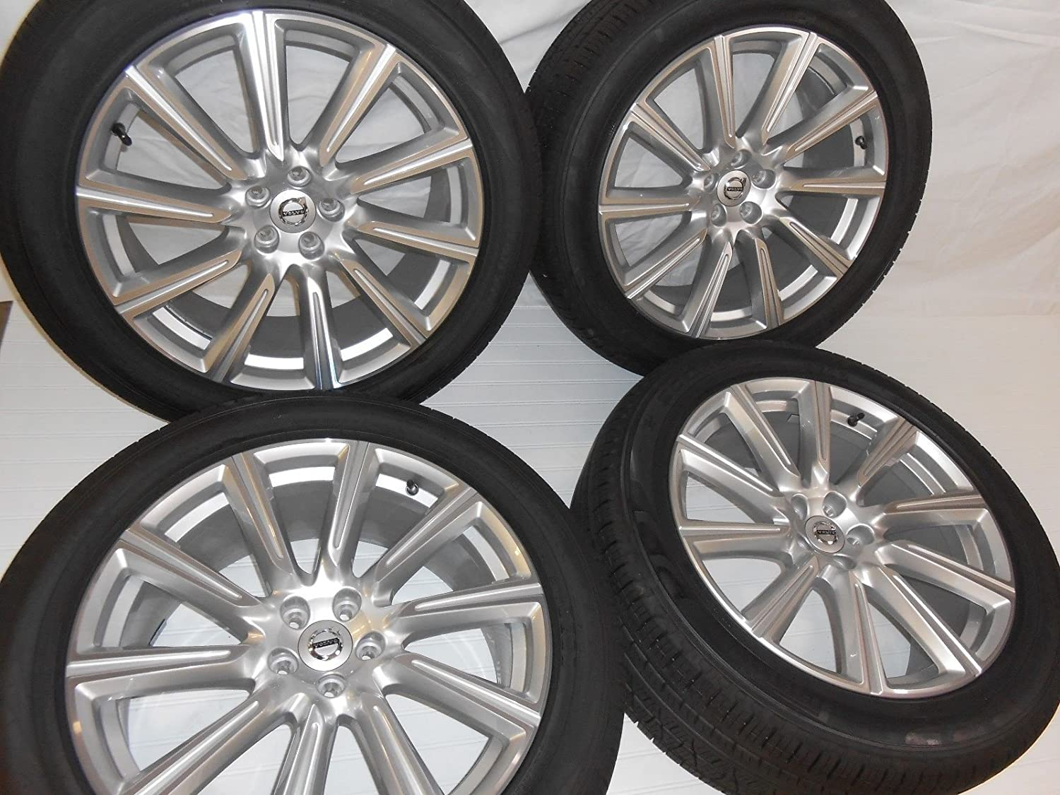 VOLVO XC90 2016-UP WHEELS AND TIRES (4) 20 INCH 10-SPOKE TAKEOFFS