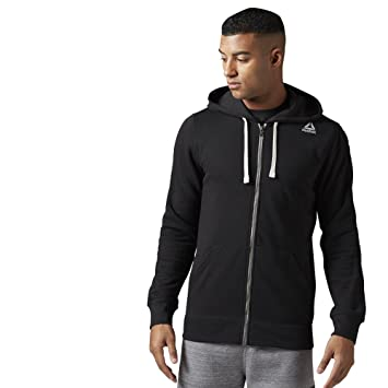 aa555bda3 Reebok Men's Elements French Terry Full-Zip Hoodie: Amazon.ca: Sports &  Outdoors
