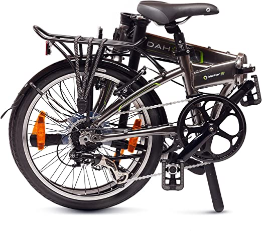 Dahon Mariner D7 Bicicleta Plegable, Unisex Adulto, Grafito, 20 ...