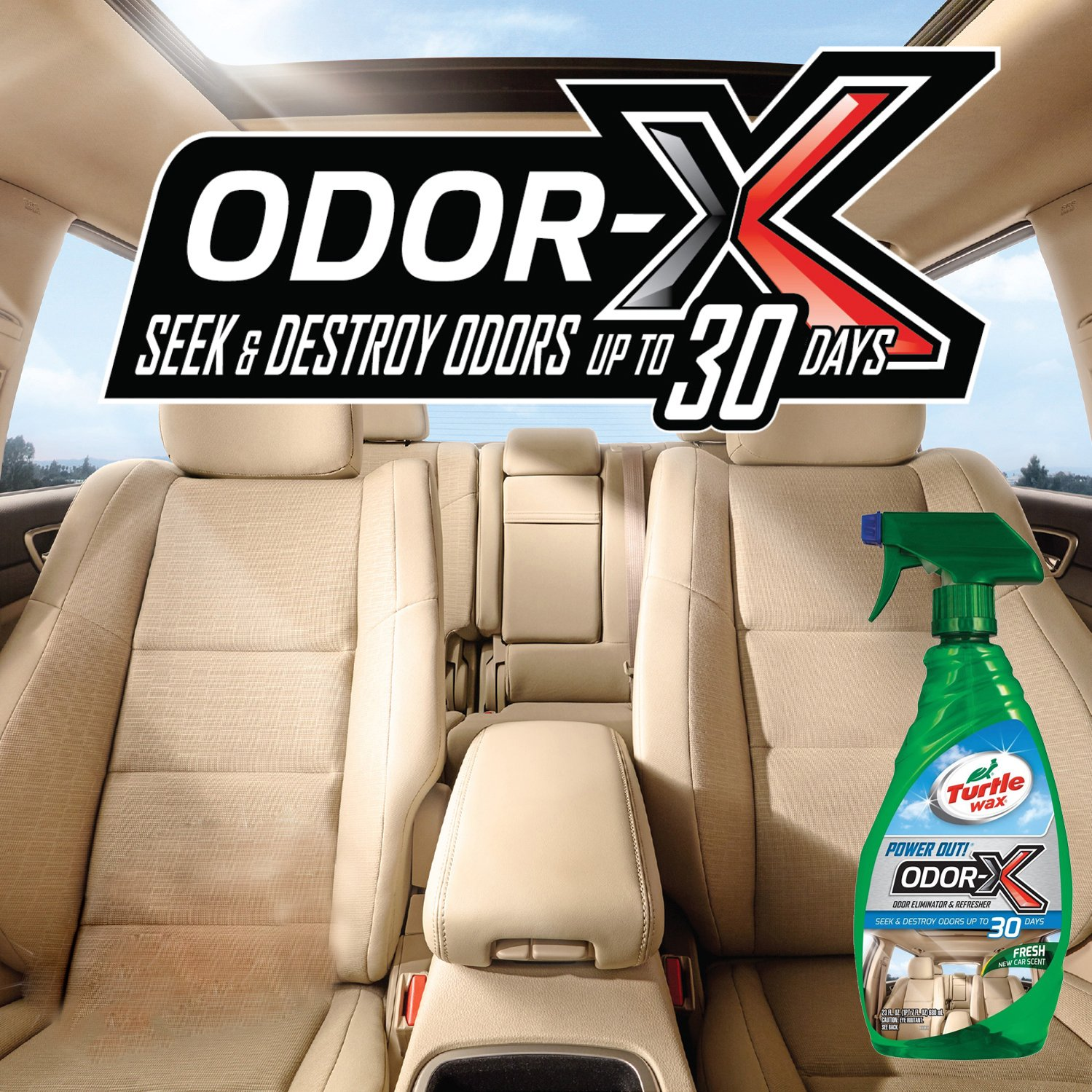 TURTLEWAX 50654 Power Out Odor Spray by Turtle Wax (Image #4)