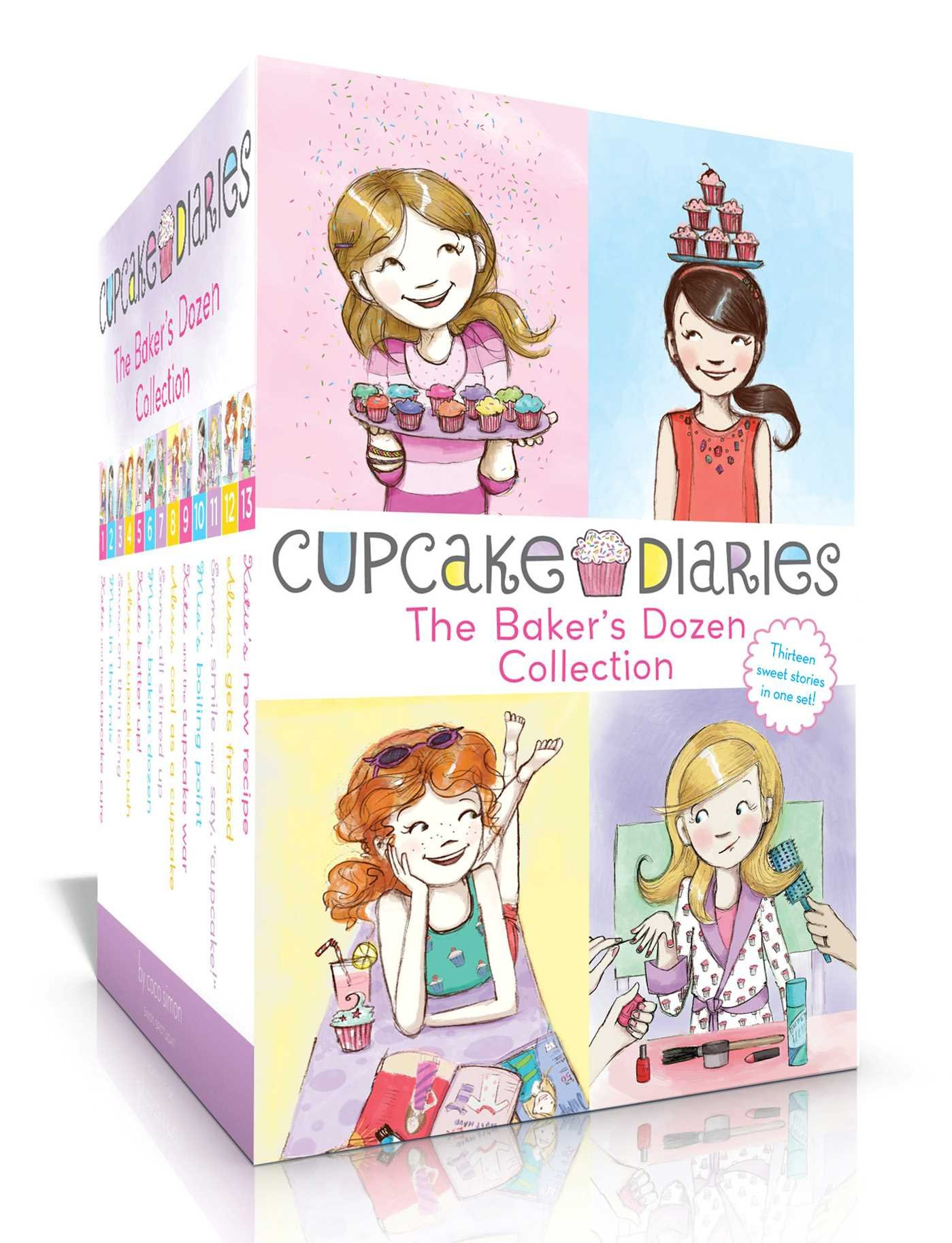 The Baker's Dozen Collection: Katie and the Cupcake Cure; Mia in the Mix; Emma on Thin Icing; Alexis and the Perfect Recipe; Katie, Batter Up!; Mia's ... Mia's Boiling Point; etc. (Cupcake Diaries) by Simon Spotlight