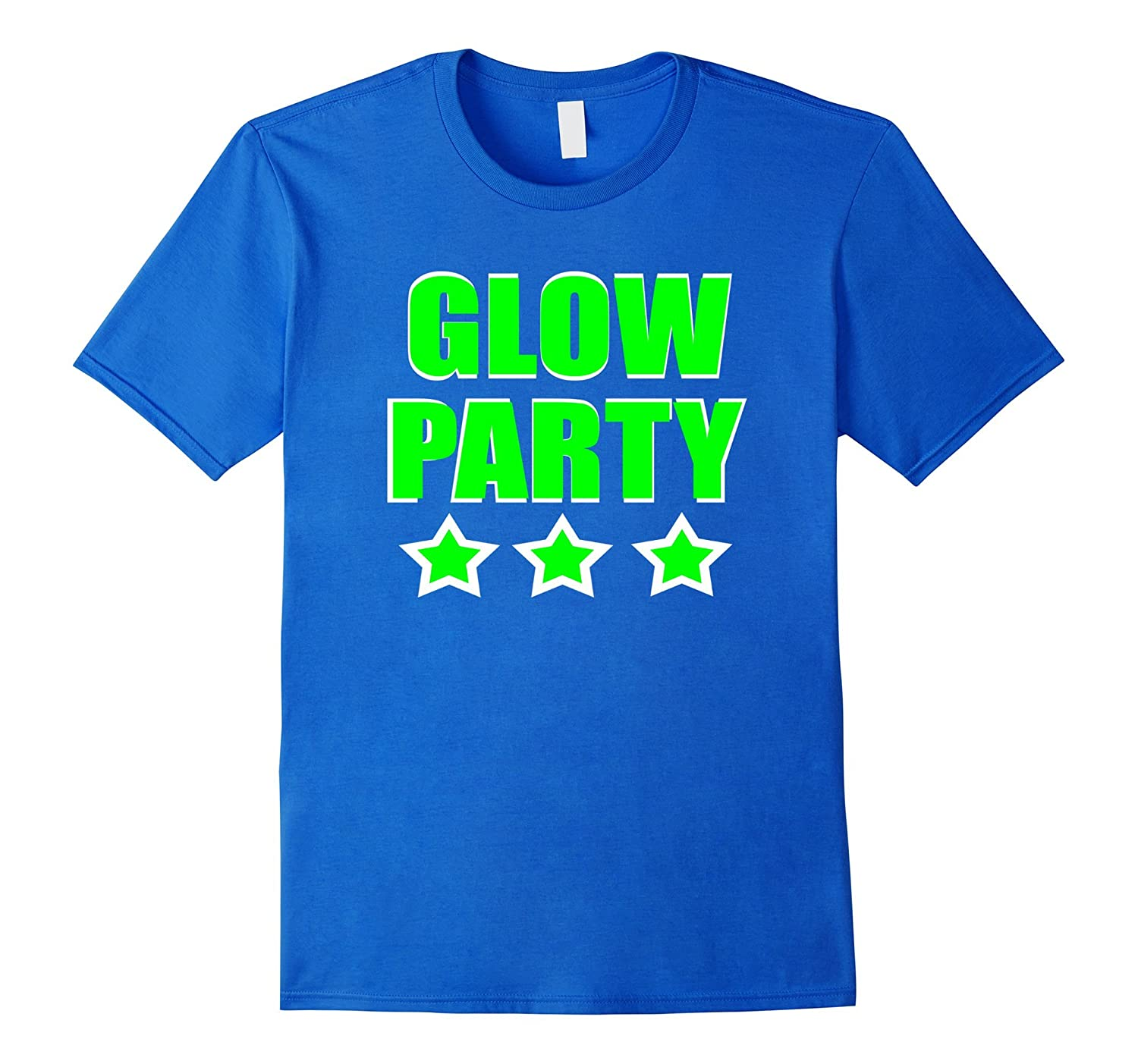 Neon Green Party Shirt For Rave Glow Birthday TH