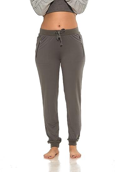 stable quality speical offer modern techniques Coco-Limon Women Sweatpants, Long Brushed Jogger, Zipper Pocket, Reg &  Plus-Size