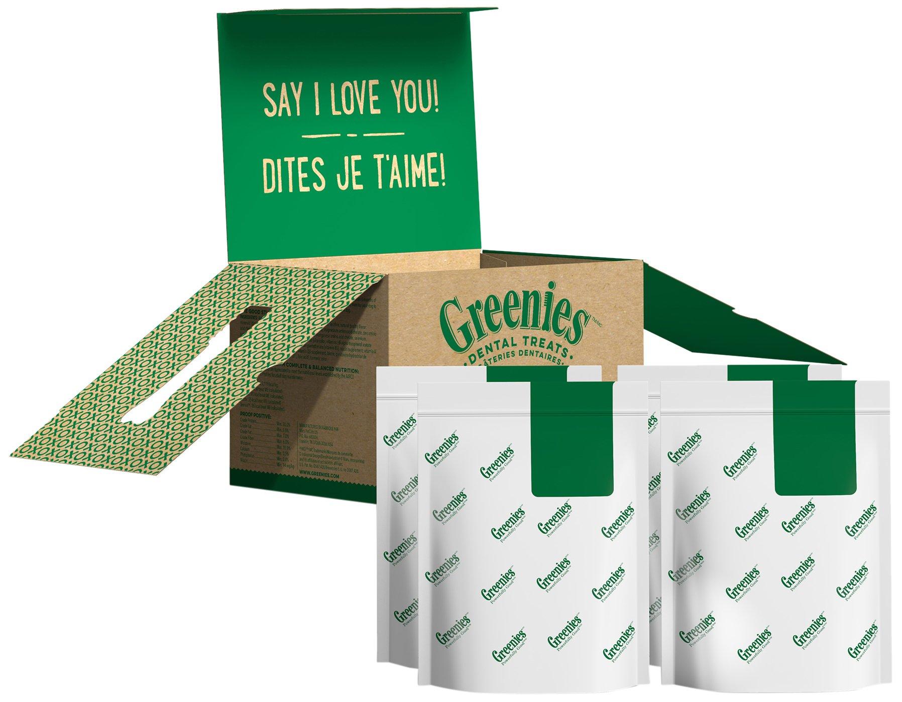 Greenies Dental Dog Treats, Large Size, Original Flavor (72 Ounces 48 Treats)  Greenies Dog Dental Chews: For Clean Teeth and Healthy Gums