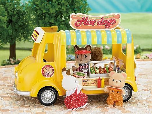 Amazon.es: SYLVANIAN FAMILIES Hot Dog Van Mini Muñecas Y Accesorios Epoch para Imaginar 5240: Juguetes y juegos