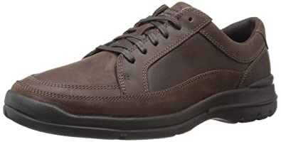 Rockport Men's Cityplay Two Lace To Toe Dark Brown 7 M (D)-7