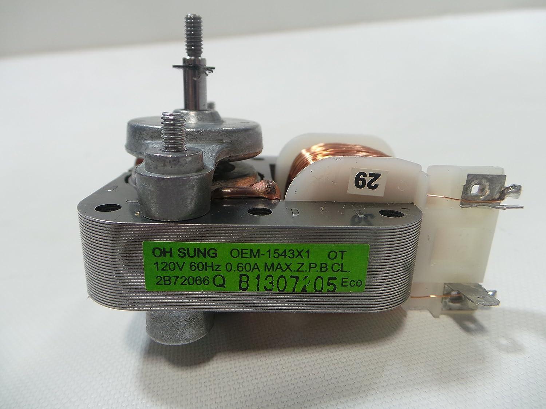LG 2b72066 microondas motor de ventilador: Amazon.es: Bricolaje y ...