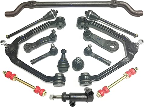 Suspension kit 2 Inner 2 Outer Tie Rod Ends 4WD AWD vehicles