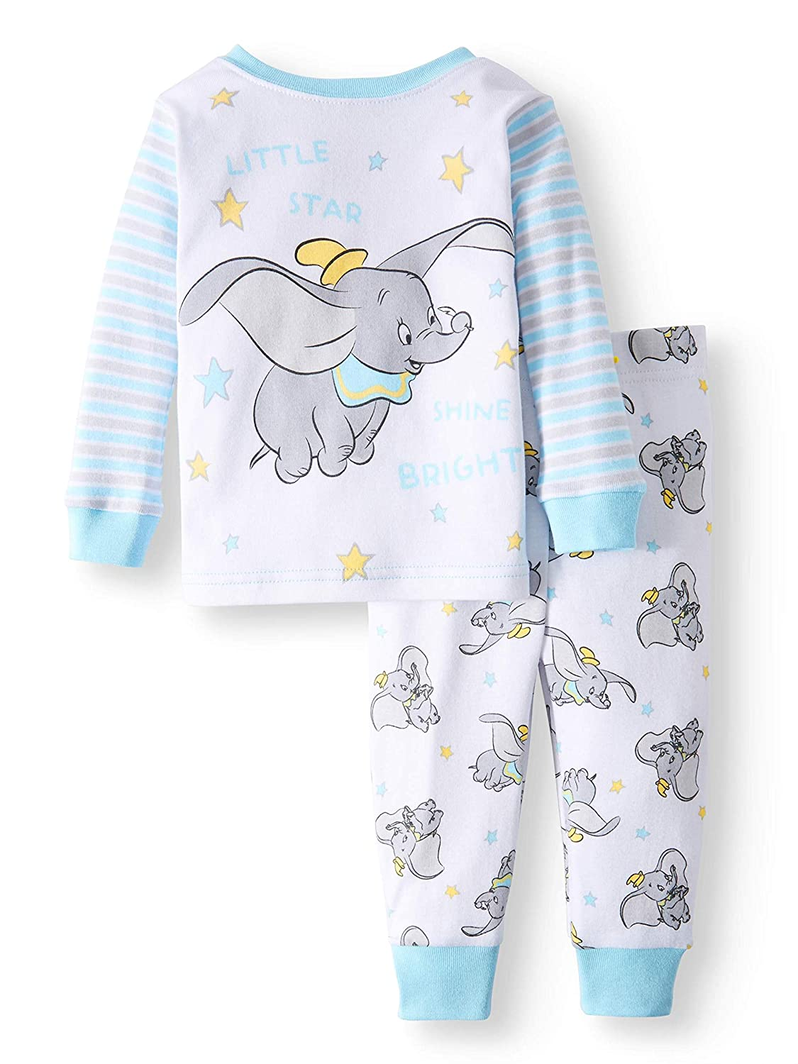 0e4e49619e6 Disney Baby Boys Dumbo Cotton Pajama Set: Amazon.co.uk: Clothing