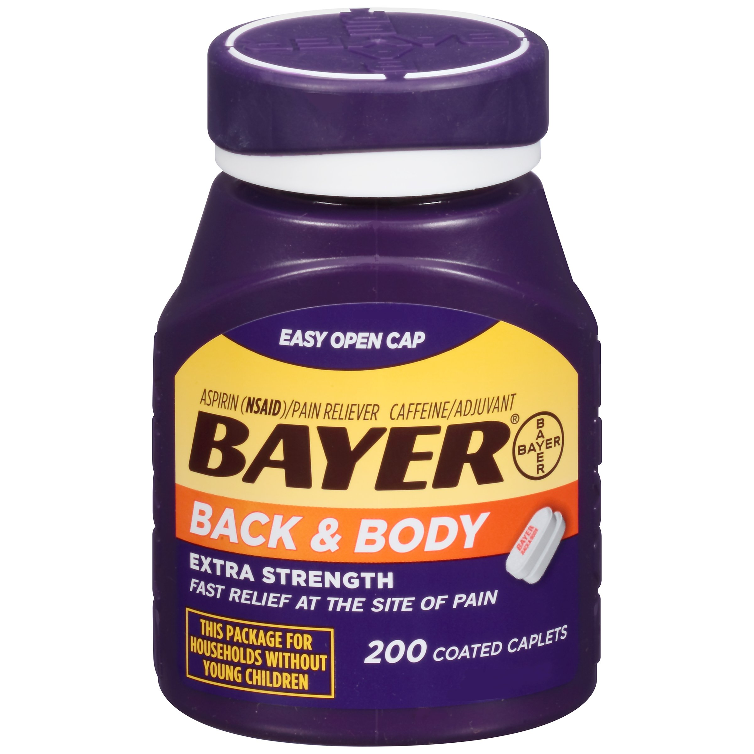 Amazon genuine bayer aspirin 325mg tablets 100 count health bayer aspirin back body 500 mg coated tablets 200 count buycottarizona Image collections