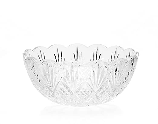 Godinger Crystal Dublin Serving Bowl | amazon.com