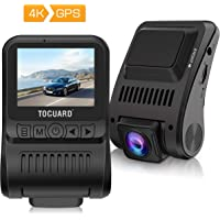 Toguard Dash Cam 4K GPS UHD Dashboard Camera with Loop Recording Parking Monitor Travelapse