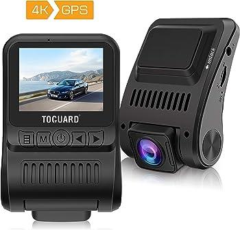 TOGUARD Dash Cam 4K GPS UHD Dashboard Camera