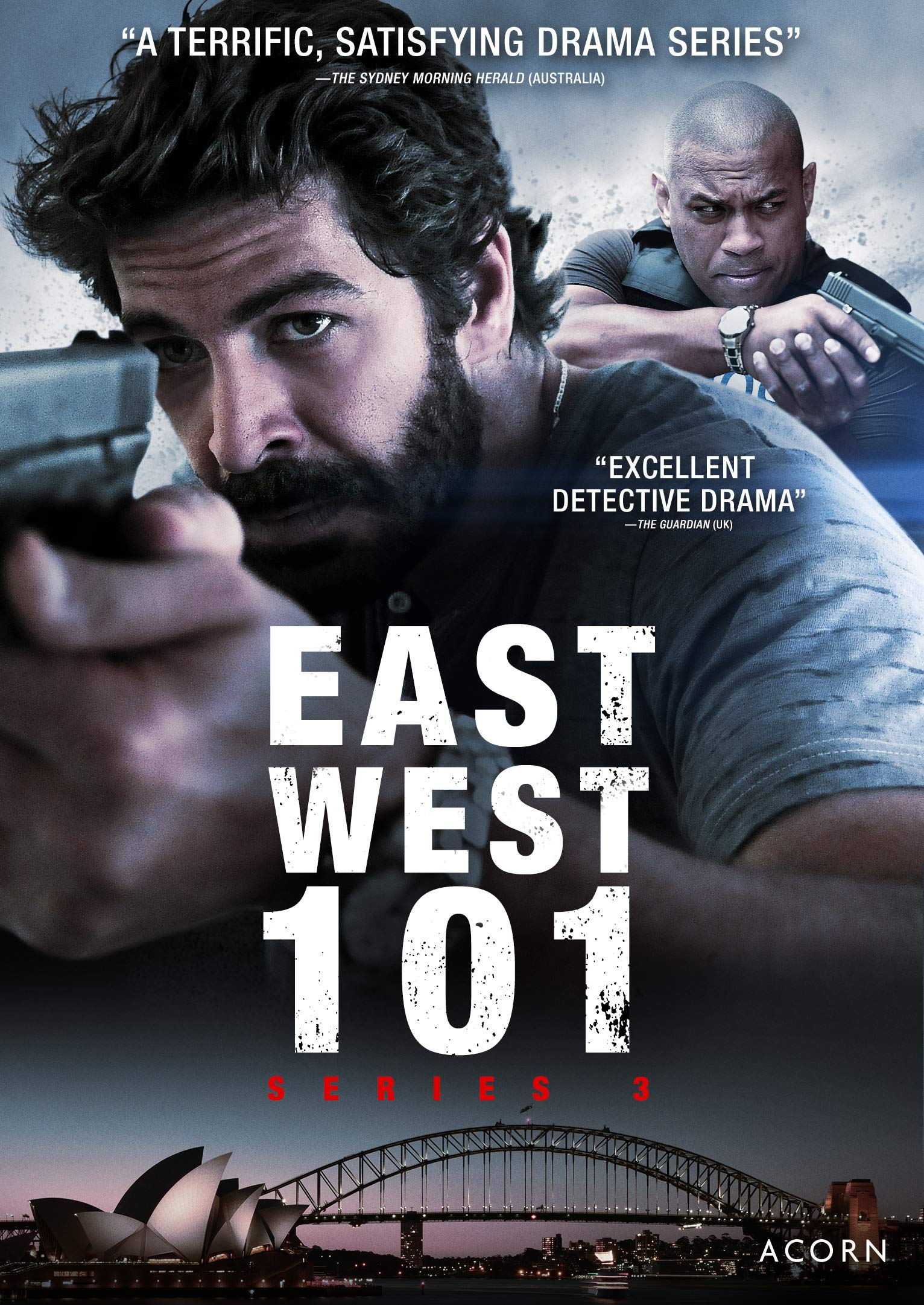 DVD : East West 101: Series 3 (DVD)