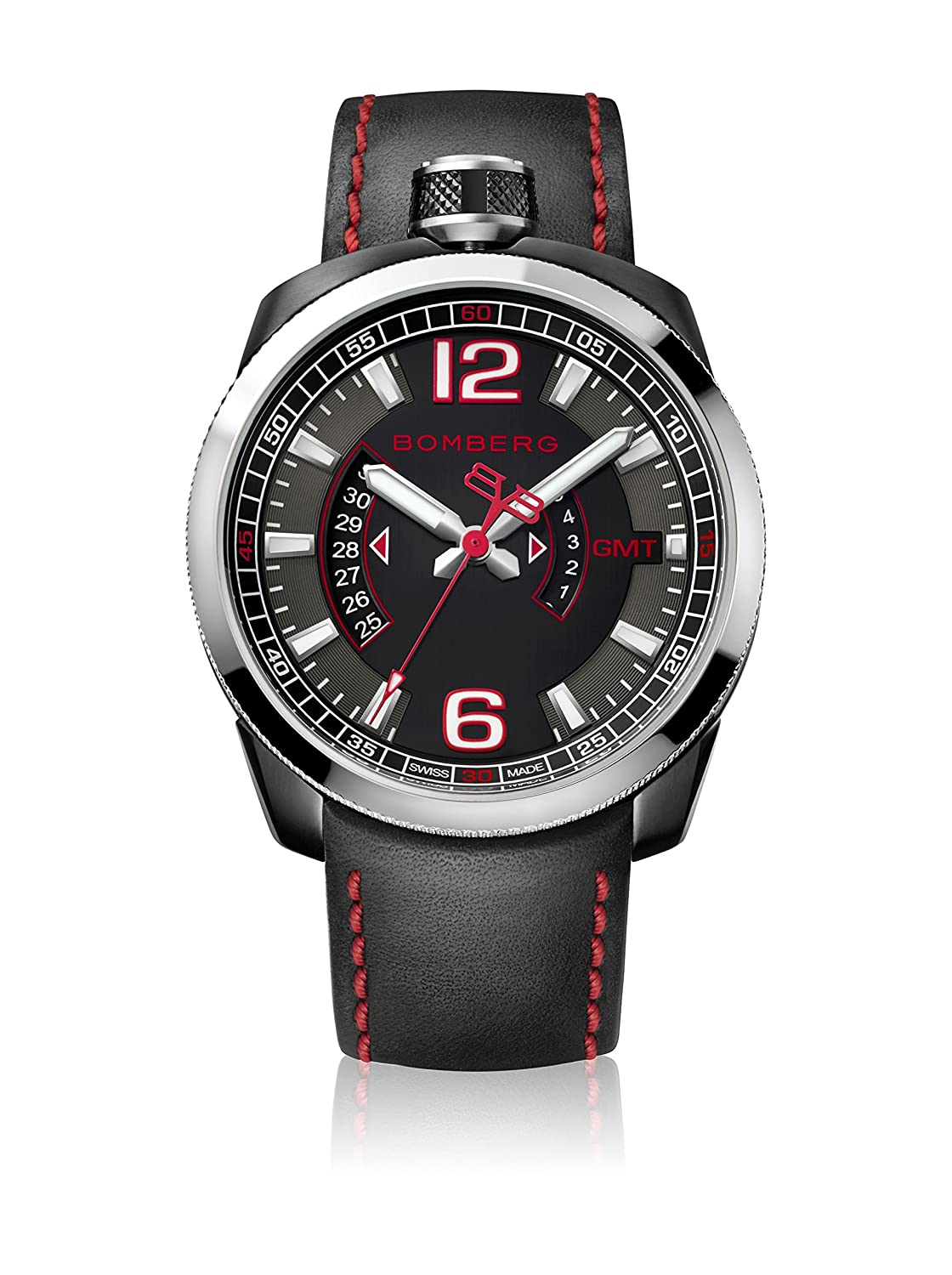 Bomberg BS45GMTSP.004.3 Bolt-68 collection Uhren - Swiss Made - 45 mm - Convertible taschenuhren