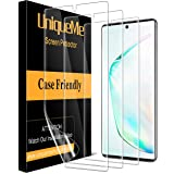 [3 Pack] UniqueMe Screen Protector Compatible with Samsung Galaxy Note 10 Plus/Samsung Galaxy Note 10+ / Note 10 Plus 5G…
