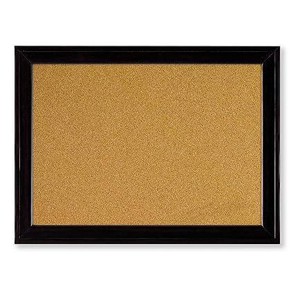 Nice Quartet Cork Bulletin Board, 11 X 17 Inches, Home Décor Corkboard, Black  Frame