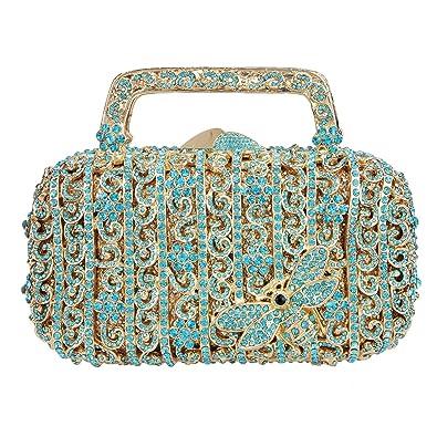 Amazon.com: Fawziya Butterfly - Bolso de noche y bolso de ...
