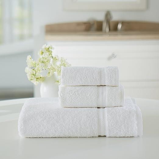Amazon.com: Welspun USA Inc Welingham Gold Hotel 6 Piece Towel Set: Home U0026  Kitchen