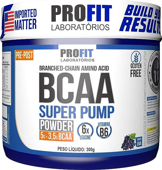 Bcaa 6: 1: 1 Super Pump - Pote 300G - Uva, Profit por Profit