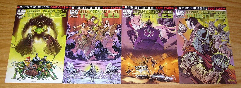 Amazon.com: Teenage Mutant Ninja Turtles: The Secret History ...