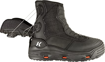 SIZE 15 KORKERS DEVILS CANYON WADING FISHING BOOT FELT KLING-ON RUBBER SOLES