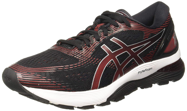 noir (noir Classic rouge) 48 EU ASICS Gel-Nimbus 21, Chaussures de FonctionneHommest Compétition Homme