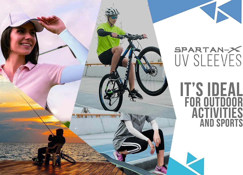 YINI Mangas del Brazo de protecci/ón Solar Anti-UV Cooling Mangas del Brazo Multicolor para f/útbol Pesca Ciclismo Actividades al Aire Libre para Mujeres Hombres sin Dedos