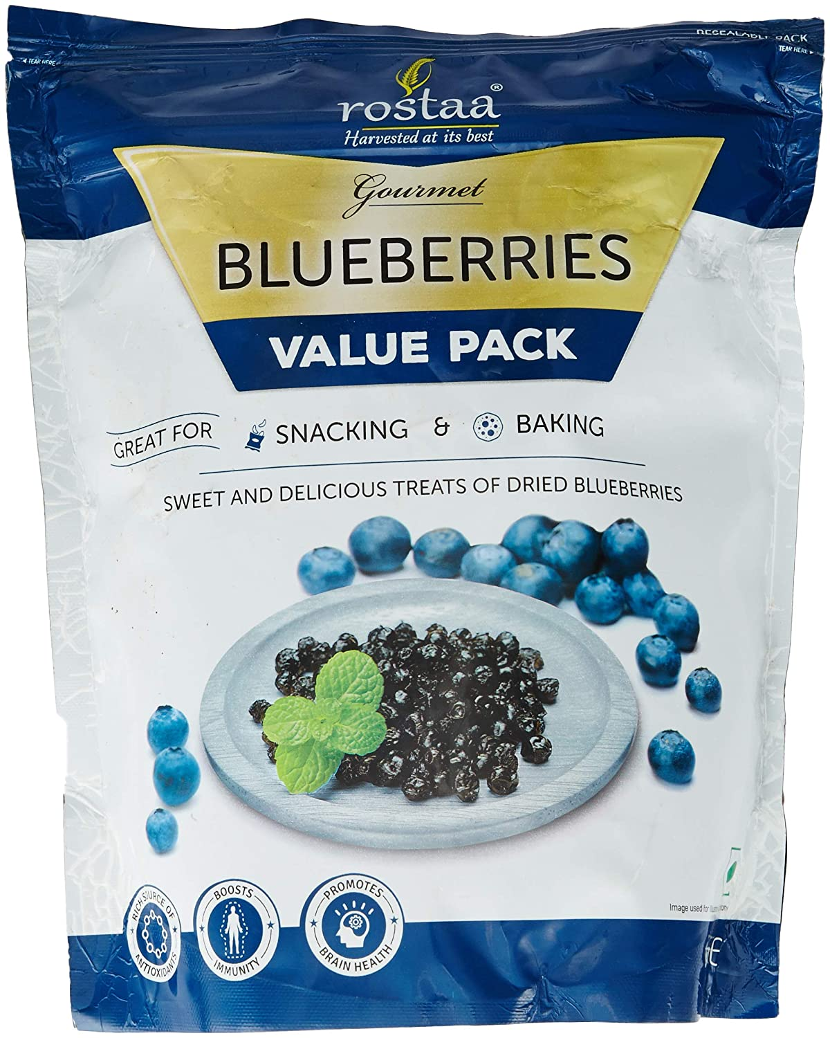 Rostaa Value Pack, Blueberries, 1kg