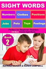 SIGHT WORDS - Level 1: Book 2 - Pets Clothes Toys Jobs Numbers Feelings Positions: Over 100 Single Words with Pictures for 2 - 5 year olds Beginner Readers Kindle Edition