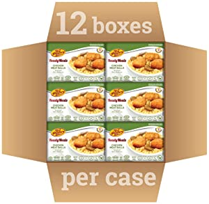 Kosher Mre Meat Meals Ready to Eat, Chicken Meatballs (12 Pack) - Prepared Entree Fully Cooked, Shelf Stable Microwave Dinner, Deliverd Home – Travel, Military, Camping, Emergency Survival Canned Food
