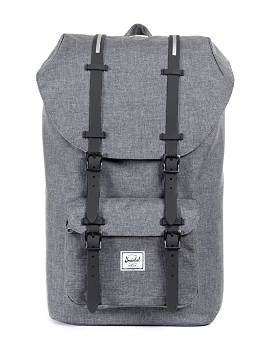 94 opinioni per Herschel supply Co. Little America zaino, Charcoal Crosshatch/Black Insert