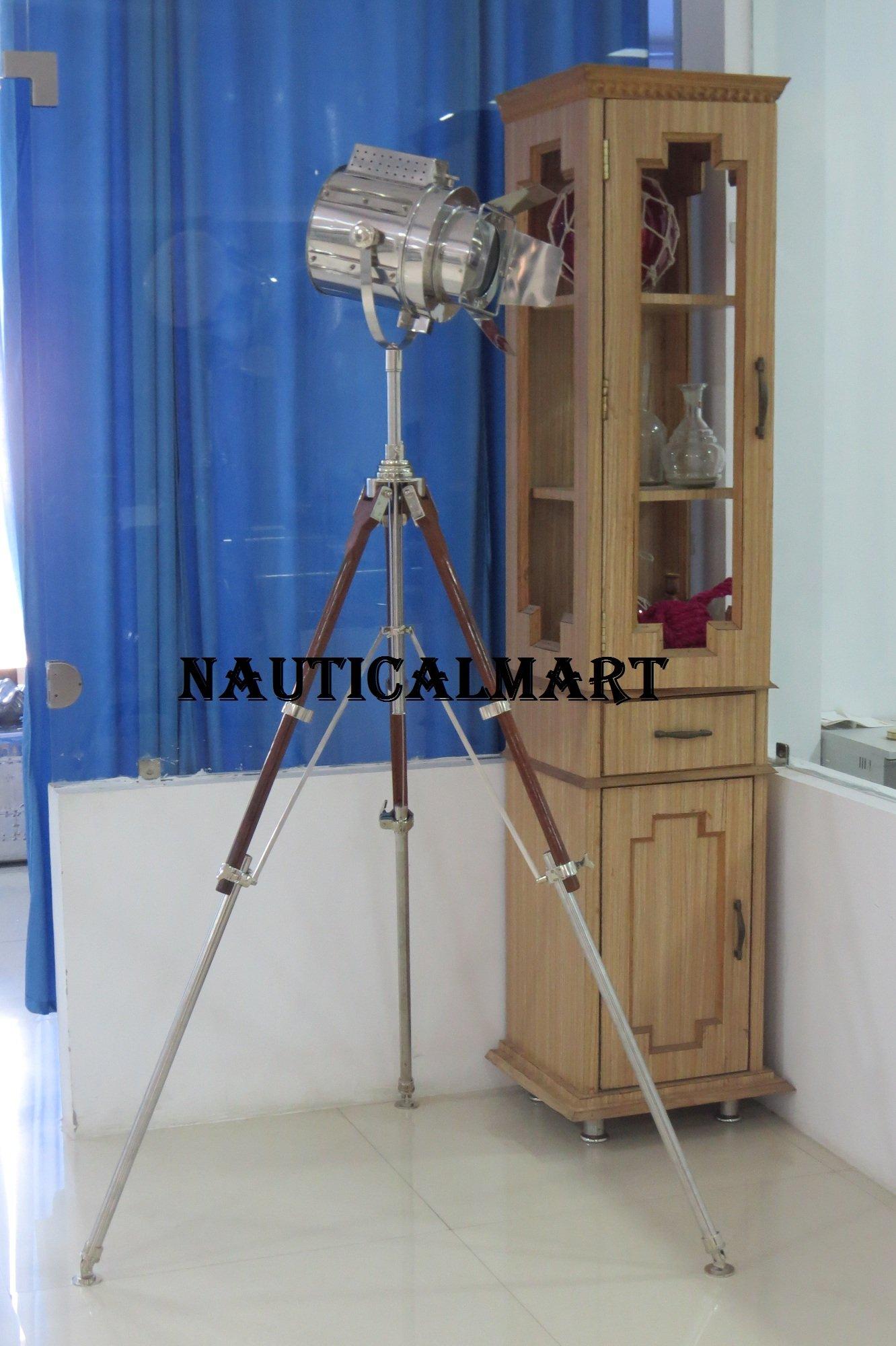 Al-Nurayn Flap Searchlight Movie Shooting Spotlight Tripod Floor Lamp