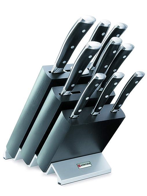 Amazon.com: Wüsthof Classic IKON Juego de cuchillos – 10 ...