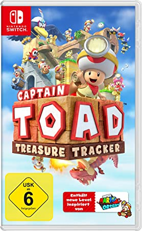Nintendo Captain Toad: Treasure Tracker, Switch vídeo Juego Switch ...