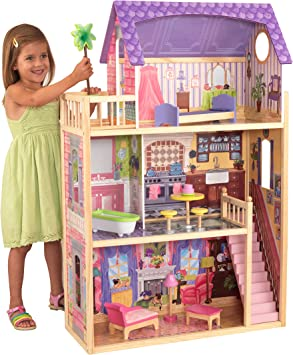 Amazon.co.jp: [Kidcraft] KidKraft Kayla Dollhouse + 8 Pieces of