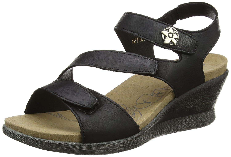 Romika Women's Nevis 07 Dress Sandals B01N0P05WL 42 MEU Black
