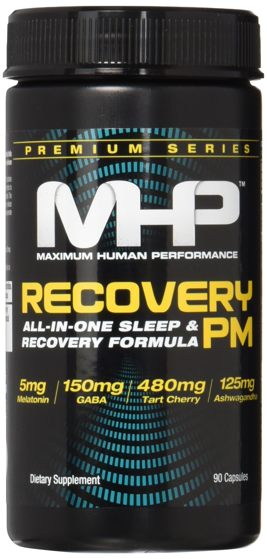 MHP, Recovery PM All-In-One Sleep & Recovery Formula, 90 Capsules