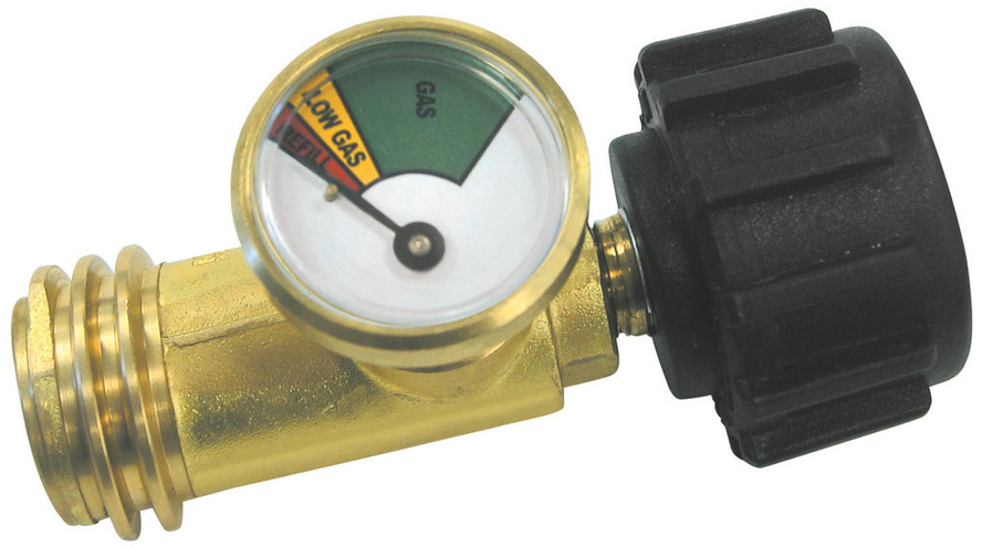 Shop Master Forge Metal Propane Gas Level Indicator at Lowes.com