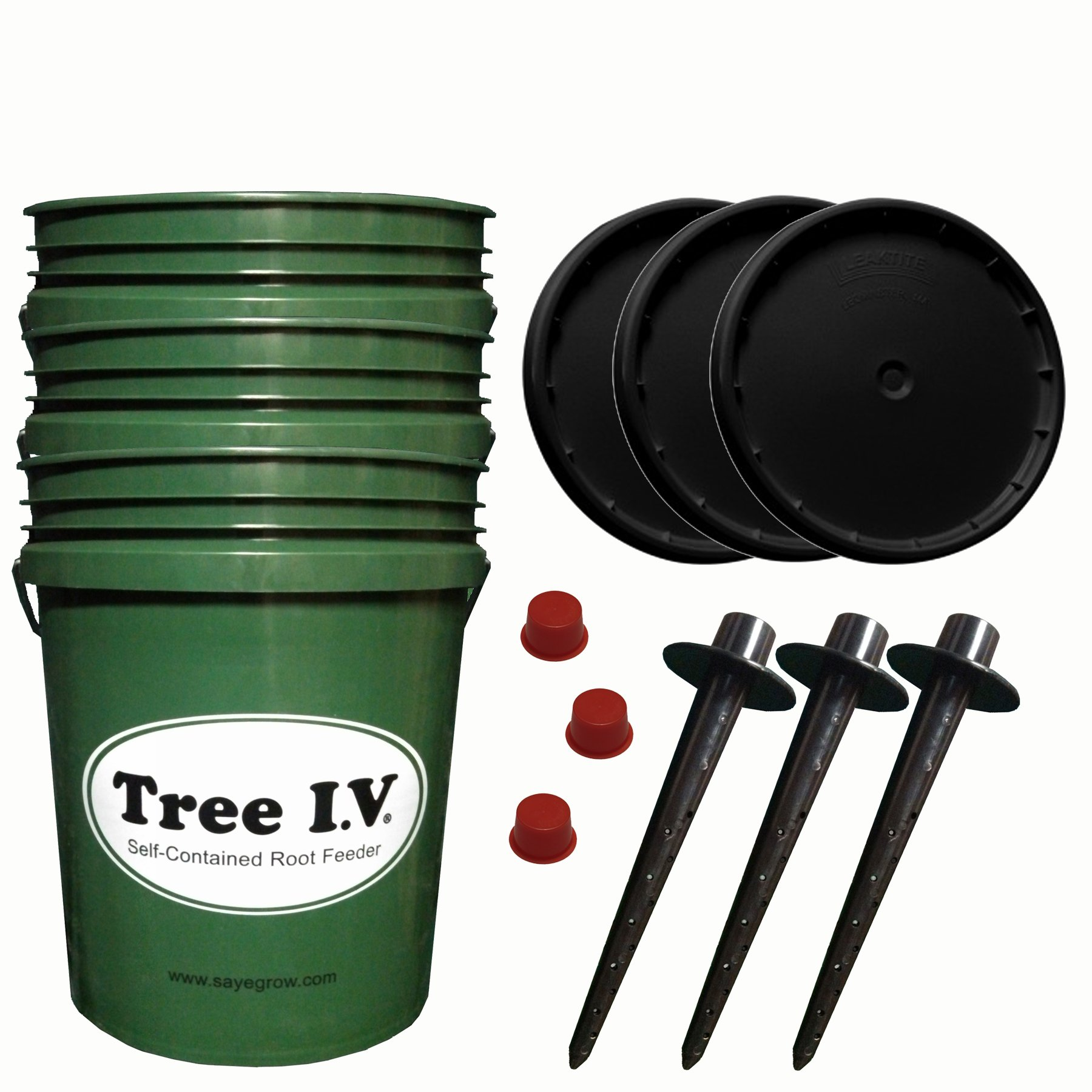 Tree I.V. 5-Gal Root Seeker   Fill and Haul Package   3-pk by Tree I.V.