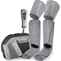 Leg Massager for Circulation - Foot and Calf Massager Air Compression Leg and Thigh Wraps Massage Boots Machine for Home…