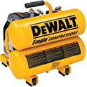 Dewalt D55151 14 Amp 1.1-HP 4-Gallon Oiled Twin Hot Dog Compressor