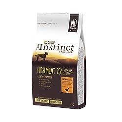 True Instinct High Meat Medium/Maxi Nourriture pour Chien Poulet Désossé 2 kg