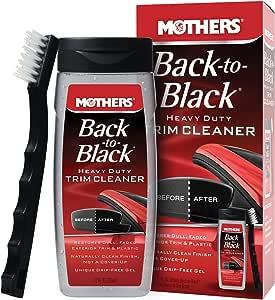 Limpador De Frisos E Parachoques - Back-To-Black - Heavy Duty Trim Cleaner Mothers