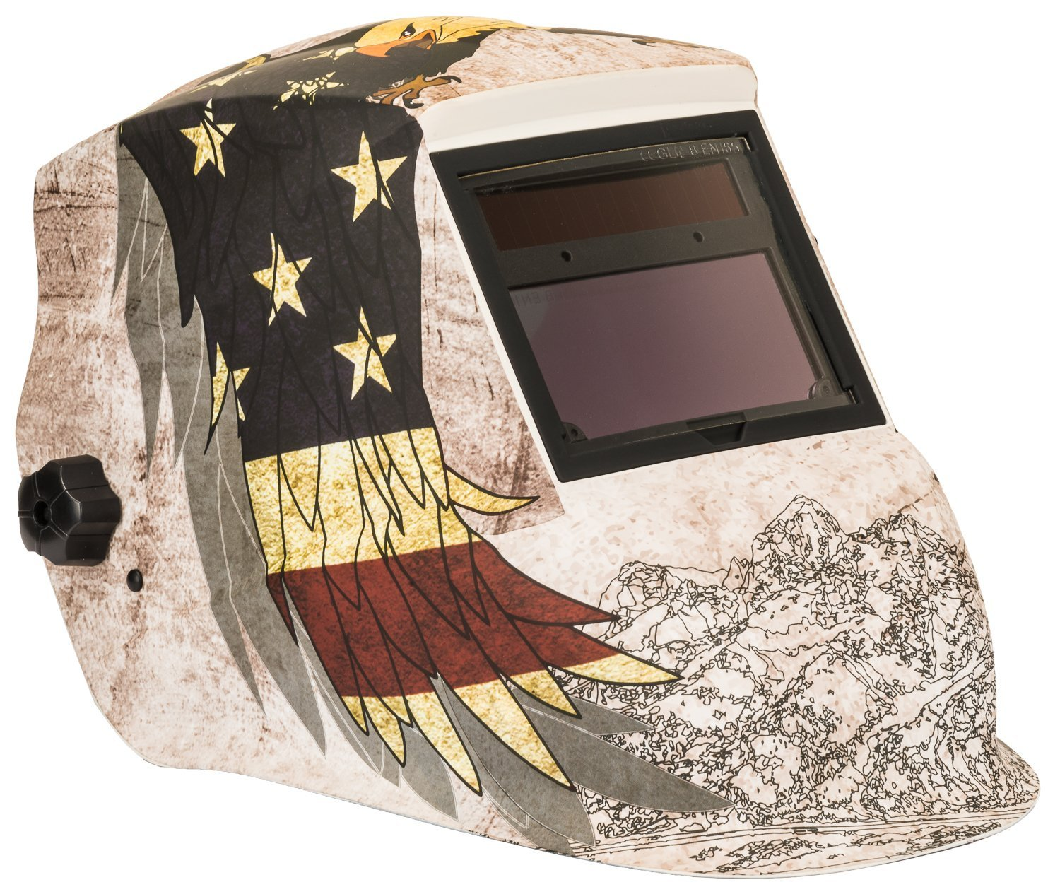 Forney 55708 Advantage Series Patriot Auto Darkening Welding Helmet
