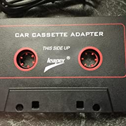 Leaper 3 5mm Universal Car Cassette Player Adapter For Iphone Smartphones Ipod Ipad Sumsung Mp3 Mobil