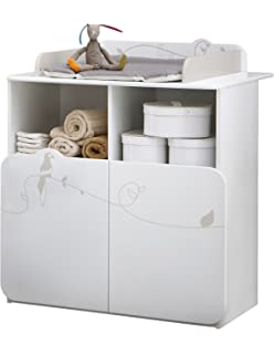 Commode Bebe Avec Table A Langer Amoviable 3 Tiroirs Grande Ours